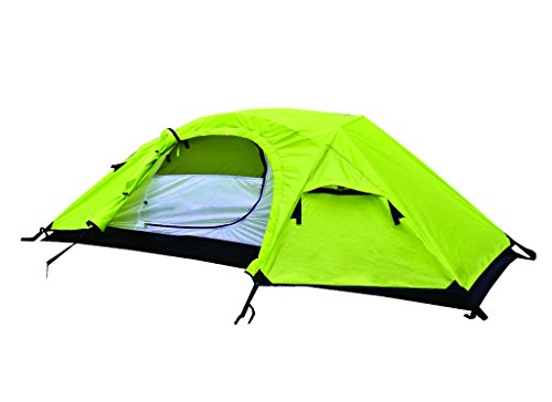 NTK Windy 1 Man Dome Bivy Lightweight Tent, 8 x 5FT Outdoor Dome Backpacking Recon Tent 100% Waterproof 2500mm, Super Compact, Durable Fabric Full Coverage Rainfly – Micro Mosquito Mesh.