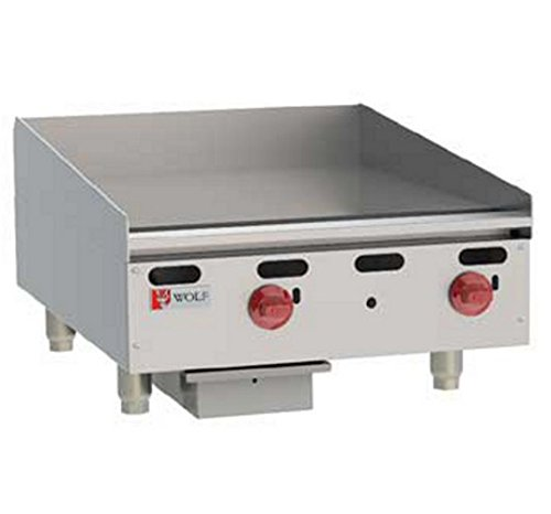 Wolf AGM24 Heavy Duty Gas Griddle 24'' W countertop by Wolf Range