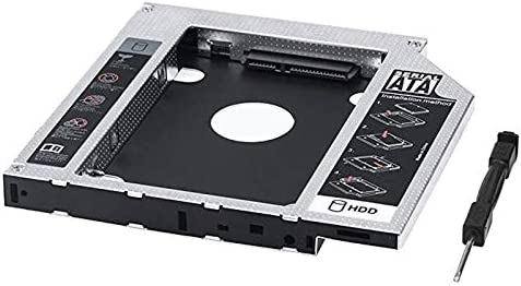 SODIAL 2Do HDD Ssd Bandeja Caddy de Disco Duro Reemplazo para ...