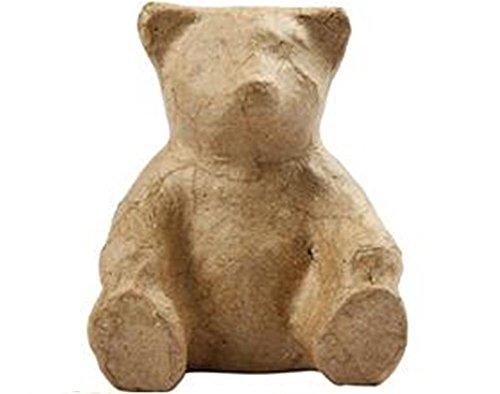 Paper Mache Sitting Teddy Bear to Decorate | Paper Mache Shapes | Papier Mache