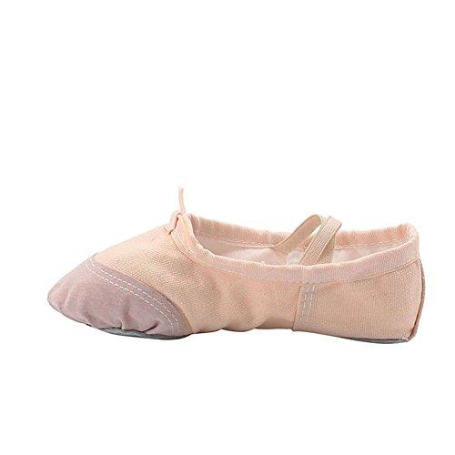 Scarpe Da Danza Classica Di Tela Di Canapa Di Yoga Della Donna Naturale