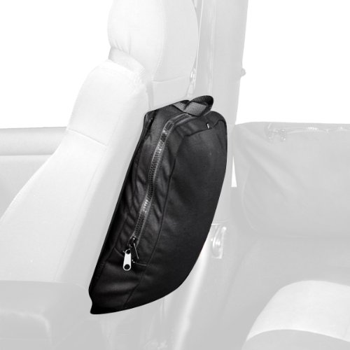 Rugged Ridge 13551.25 Detachable Seat Back Trail Bag (Roll Rugged Seat Work)