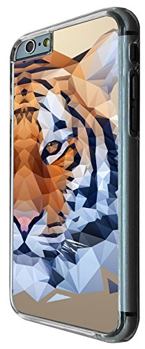 285 - Cool Fun Tiger face Design iphone 6 6S 4.7'' Coque Fashion Trend Case Coque Protection Cover plastique et métal