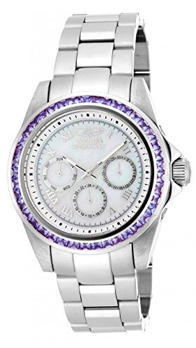 New Womens Invicta 17713 Speedway 3.73ctw Tanzanite Bracelet Watch