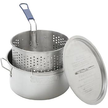10 Quart Aluminum Deep Fryer Pot