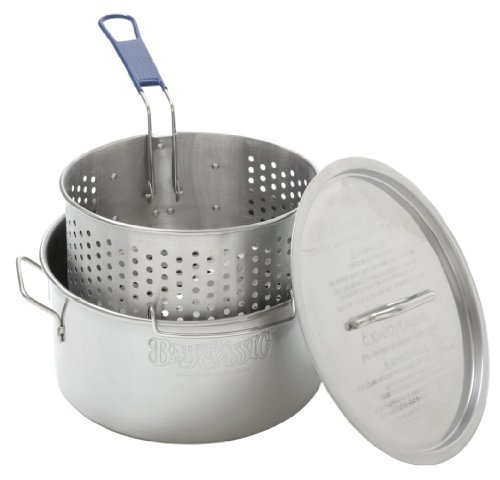 stainless fryer basket - 2