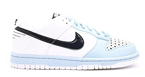 Women Nike Dunk Low (NIKE Women's Dunk Low White/Marine 11.5)