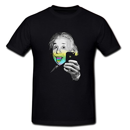Albert Einsteins Autodyne T Shirt For Men Xxxl Black