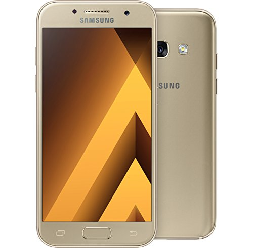 Samsung Galaxy A3(2017) A320F DS 16GB (GOLD SAND) GSM Unlocked International Model, No Warranty