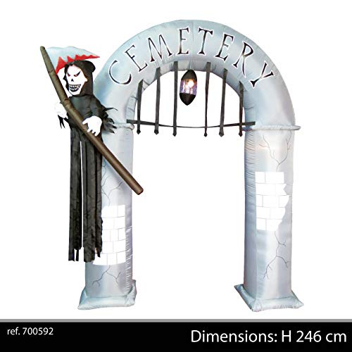 Urban Living Inflatable Witch Arch with Cemetery
