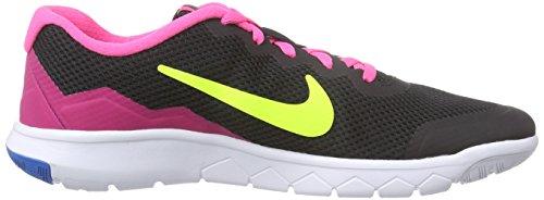Pow 4 Volt Flex pink GS Experience Black Sportive white Nike Ragazza Scarpe wvEqR66