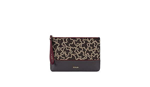 Tous Cartera de mano Clutch Elice New gris: Amazon.es: Zapatos y complementos