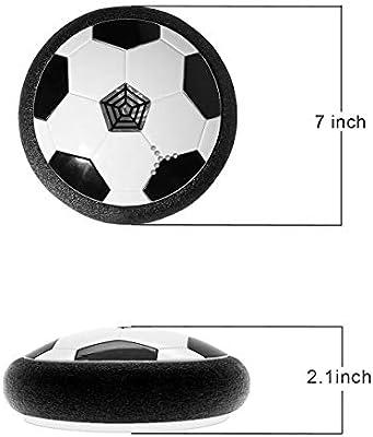 Amazon com: E&W Kids Toys Amazing LED Hover Football for Kid