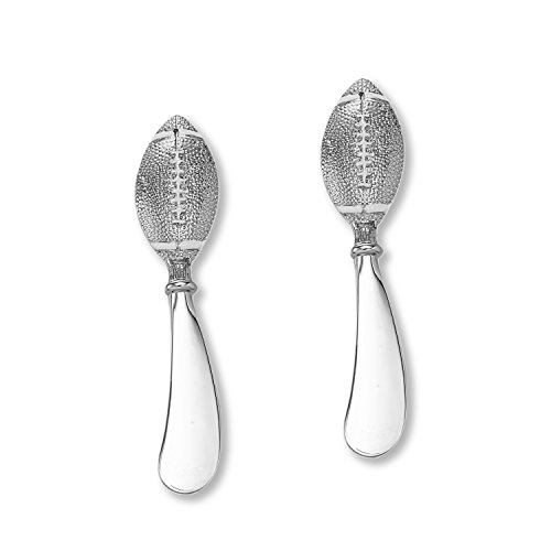 (Wine Things 00818 Football Cheese Spreader 4 1/2