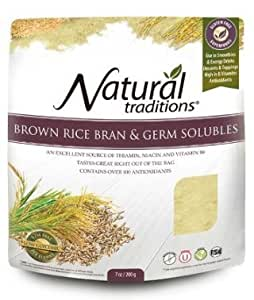 Amazon.com : Rice Bran & Germ Powder 200g -Raw Food Diet