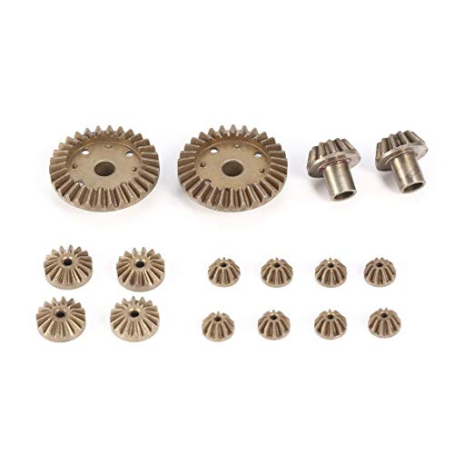(12 24 30T Diff.Main Metal Gear Repair Parts for WLtoys 12428 12423 1/12 RC Car)