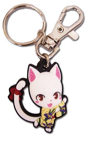Great Eastern Entertainment Fairy Tail SD Carla Yukata PVC Keychain