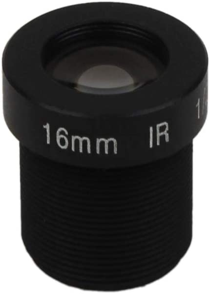 5MP Action Camera Lens 16mm Fixed/M12 1//2 Inch IR Filter for Gopro SJCAM YI EKEN Long Distance View