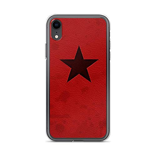 iPhone XR Pure Clear Case Cases Cover Winter Soldier Notebook (Bright)