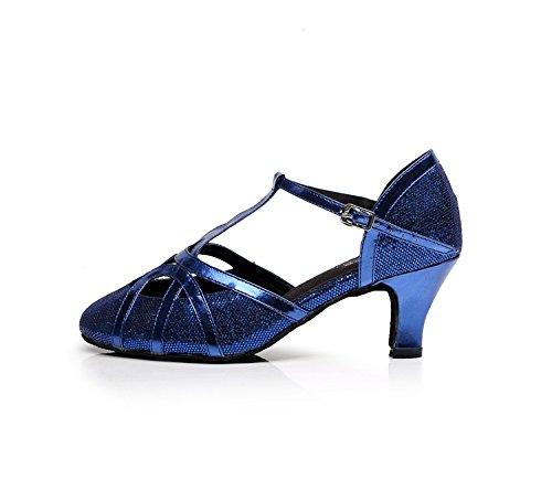 Minitoo - Chaussures De Danse En Cuir Pour Les Hommes, Couleur Noire, Taille 46
