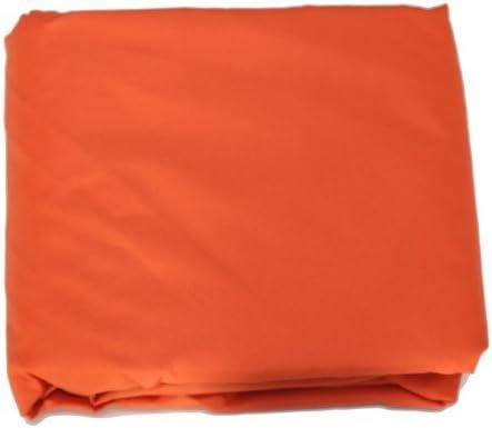 Una 12 X12 x12 Waterproof Resist UV Sun Shade Sail Canopy Color Orange