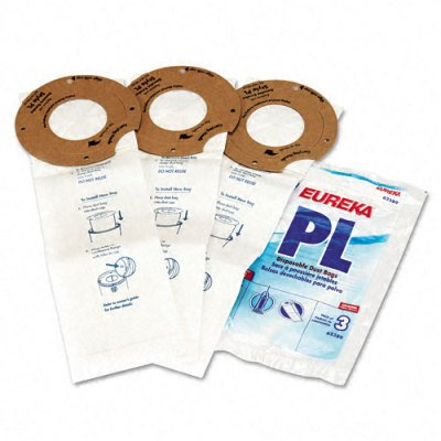 Electrolux EUK62389A6 Eureka Replacement Vacuum Bags for Maxima Lightweight 3/Pack, N/A 62389-H