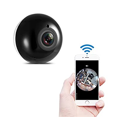 lifepot Sricam SP022 960P HD Wifi Wireless IP Security Camera Fisheye 360° Panoramic Camera with IR-Cut