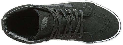 Leather Noir Mixte Sneakers Hi Sk8 Hautes Adulte Vans Reissue Premium qzH6wZx0