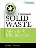 Solid Waste Analysis and Minimization 1st Edition