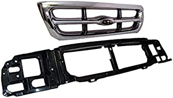 Genuine Ford F87Z-8200-EAA Radiator Grille