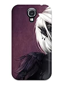 (dSiYnHq1716FsSnq)durable Protection Case Cover For Galaxy S4(the Black Elf Fantasy Abstract Fantasy)