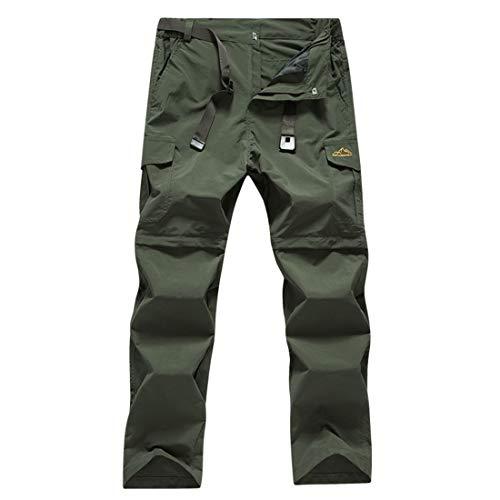 TOURME Lightweight Hiking Pants Mens Convertible Zip Off Trekking Fishing Pants