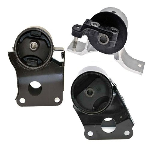 Nissan Altima 2.5L Engine Motor Mount - Front Rear Right 3 PCS : A7340, A7342, A7341 ()
