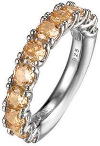 ESPRIT Women's Ring 925/1000 6.8 G Silver Zirconium Oxide