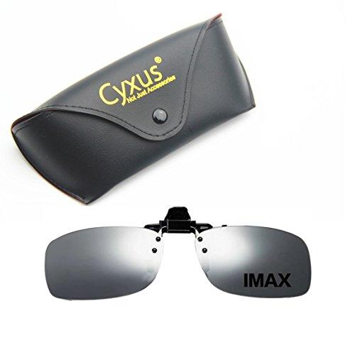 Cyxus 3D Movie/Cinema Clip-on Glasses Polarized Eyewear (IMAX)
