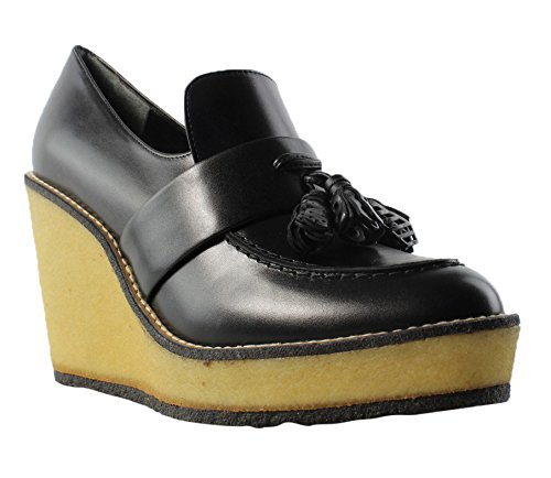 Robert Clergerie Womens Black Platform & Wedges Heels Size 7 New