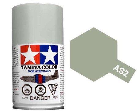 Tamiya Aircraft Spray Lacquer Paint AS-2 Light Grey