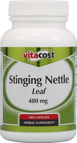 Leaves 480 Mg 100 Capsules - Vitacost Stinging Nettle Leaf -- 480 mg - 100 Capsules - 2pc