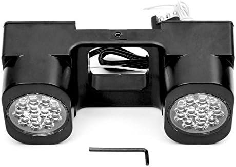 Krator LED Hitch Light Brake Reverse Signal Light for Trucks Trailer SUV 2 Receiver for GMC Suburban K25 Jimmy P3500