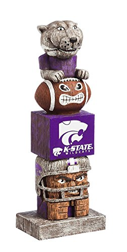- Evergreen NCAA Kansas State Wildcats Tiki Totem