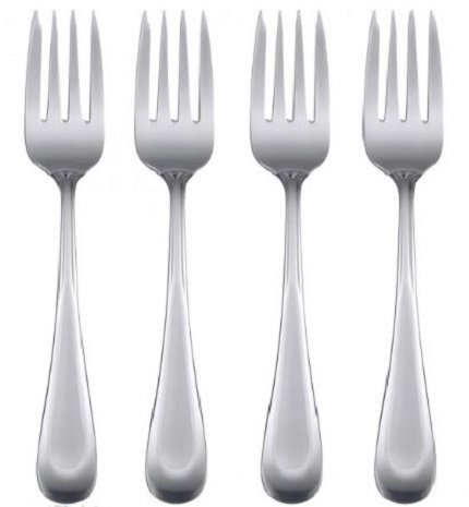Oneida Satin Sand Dune Set of 4 Salad Forks