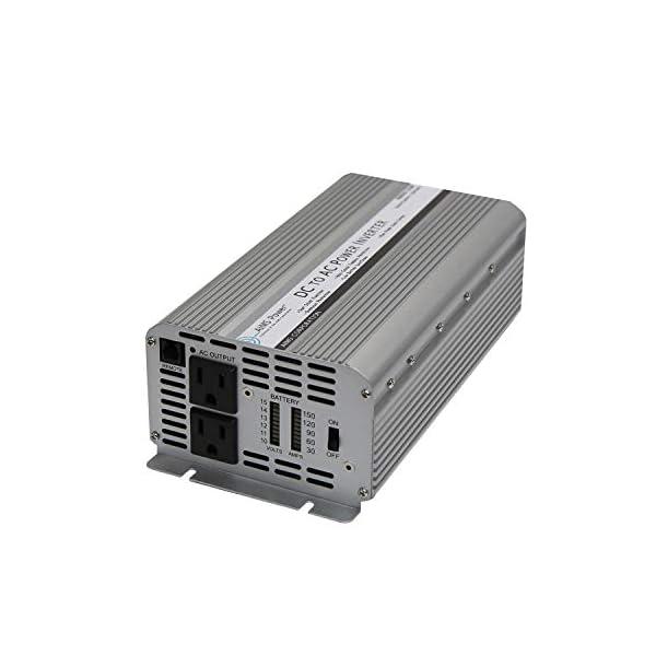 AIMS Power 12V Power Inverter,Continuous Power, Surge Peak Power