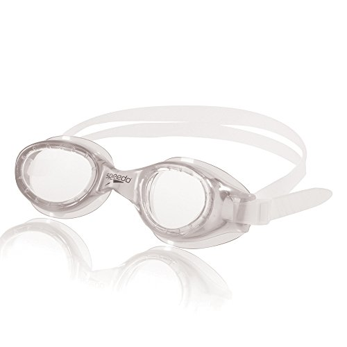 Speedo Hydrospex Classic Swim Goggle, Clear, (Speedo Goggle Nose Piece)