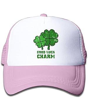 Good Luck Charm Painting Baby Baseball Cap Infant Trucker Hat