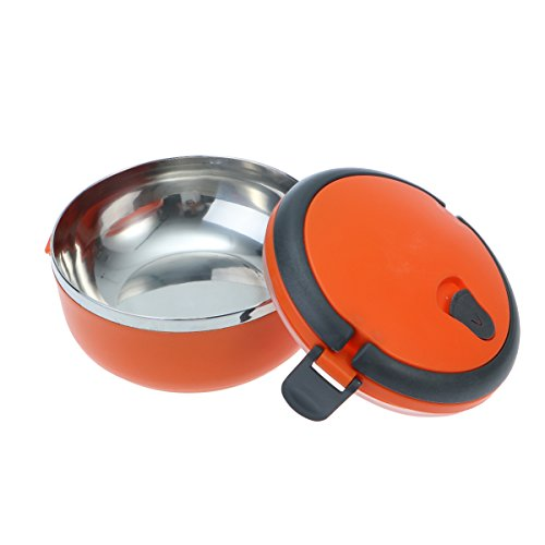 17c15730e60f BESTONZON Stainless Steel Lunch Box Food Storage Container Portable Bento  Box (Orange)