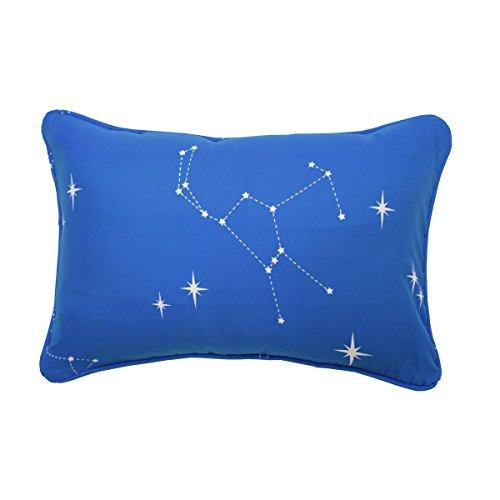 WAVERLY Kids Space Adventure Oblong Decorative Accessory Pillow, 12 x 18, Multicolor