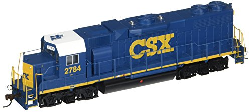 Bachmann Industries Emd GP38-2 HO Scale #2784 Diesel CSX Dark Future Locomotive -