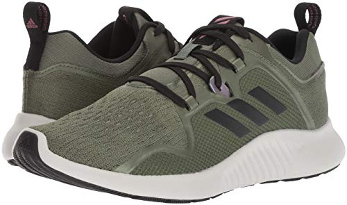 adidas Women's EdgeBounce Running Shoe Base Green/Black/Trace Maroon 5 M US by adidas (Image #6)