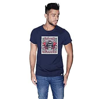 Creo T-Shirt For Men - L, Navy Blue