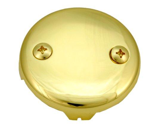 Bathtub Tub Replacement Drain Trim kit - Polish Brass Finish, Tip Toe Type, By Plumb USA by PlumbUSA (Image #2)